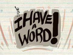 I Have a Word Final FB Timeline Photo