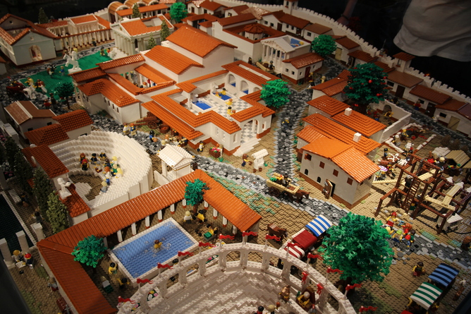Pompeii Lego