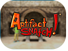 Artifact Snatch archaeology game and social studies game for middle school