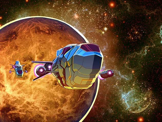 exotrex 2 game space ship