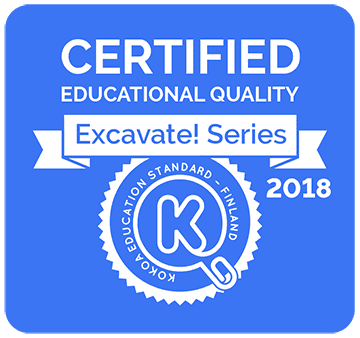 Kokoa certification for the educational social studies games
