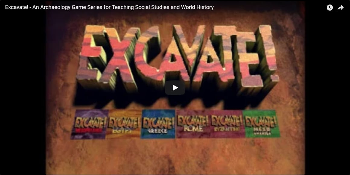 Excavate! Series Promo Video