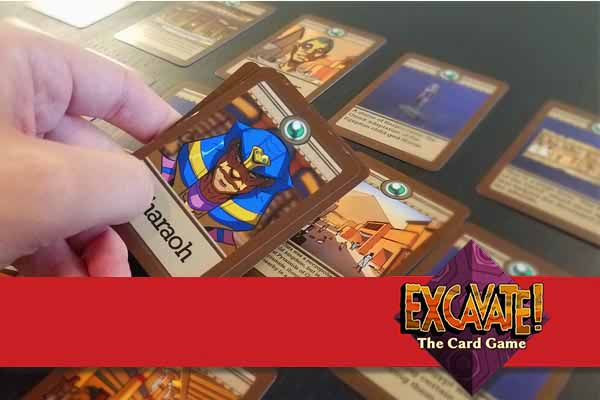 Excavate Card Game