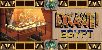 World History Game Excavate Egypt