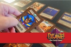 The Excavate! Card Game could be your gifts for teachers