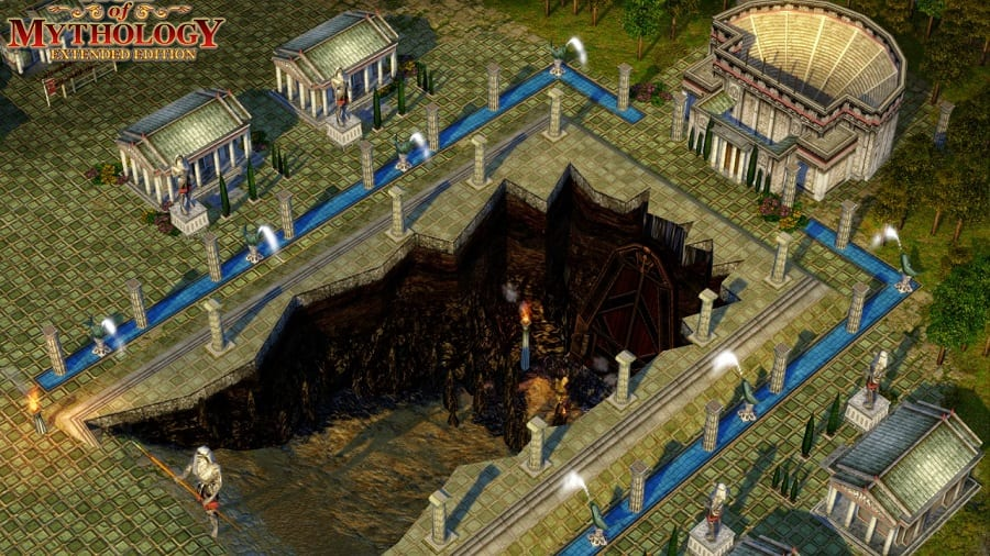 World history and myths are featured heavily in Age of Mythology