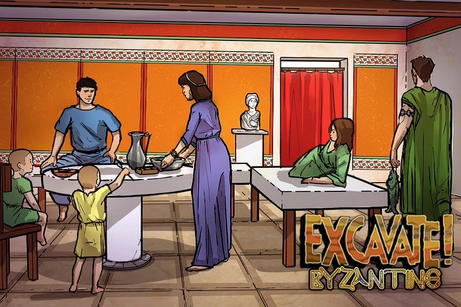 Excavate! Byzantine game for social studies world history classrooms