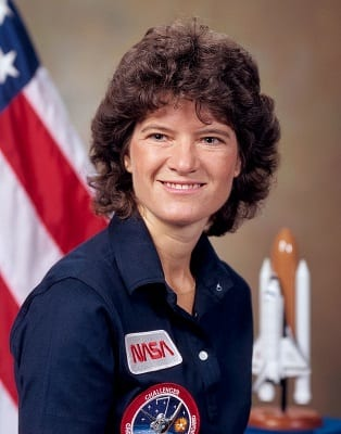 The first American woman to go to space and the youngest astronaut ever