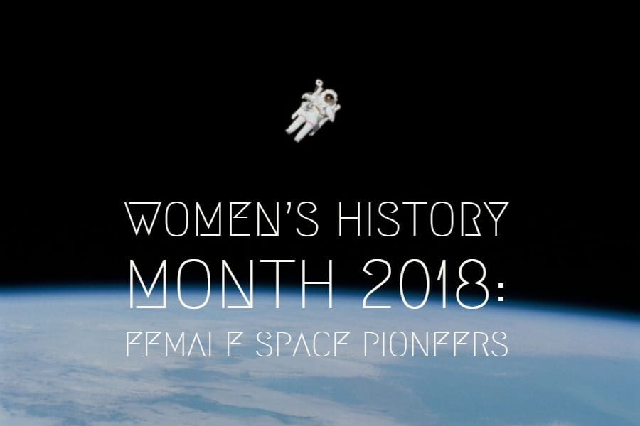 Female Space Pioneers, celebrating Women's History Month at Dig-It! Games