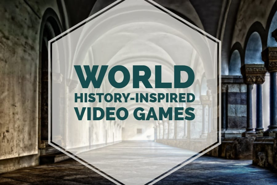 A collection of video games inspired by world history