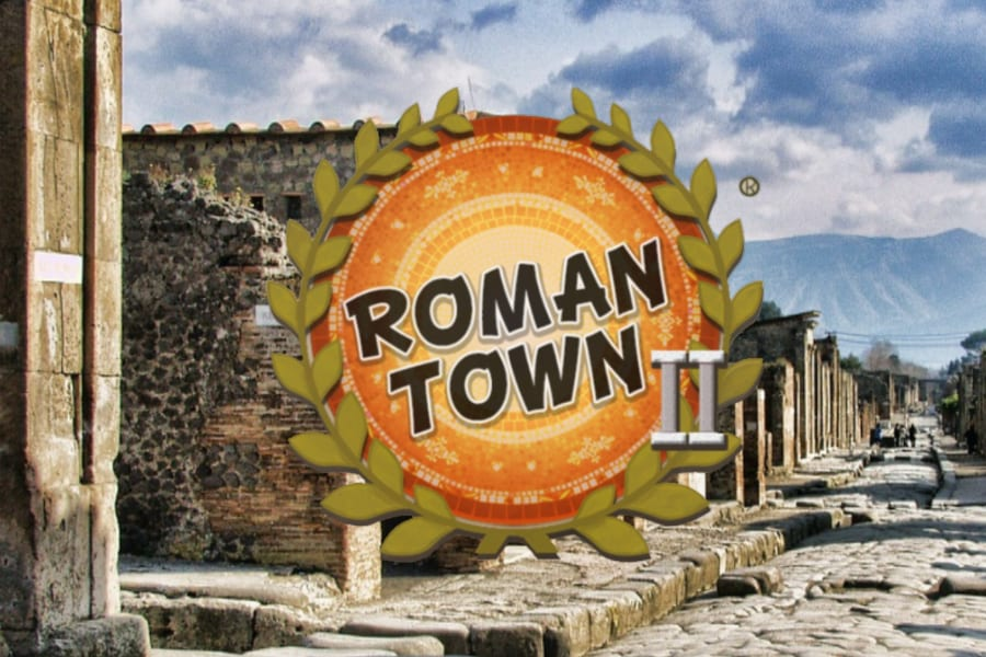 Roman Town 2 a social studies puzzle game for educational classrooms