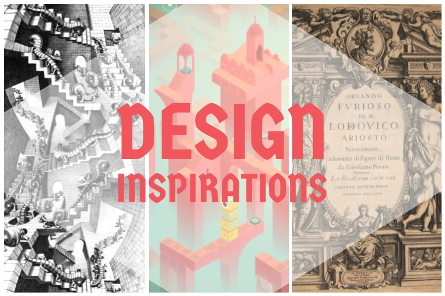 Design Inspiration for Roterra- inspirations for game development process