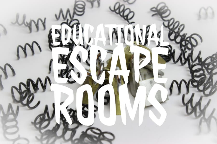 Educational Escape Rooms for teachers
