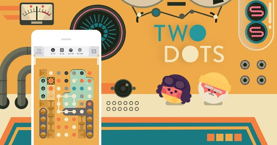 Play 2 dots for stress relief