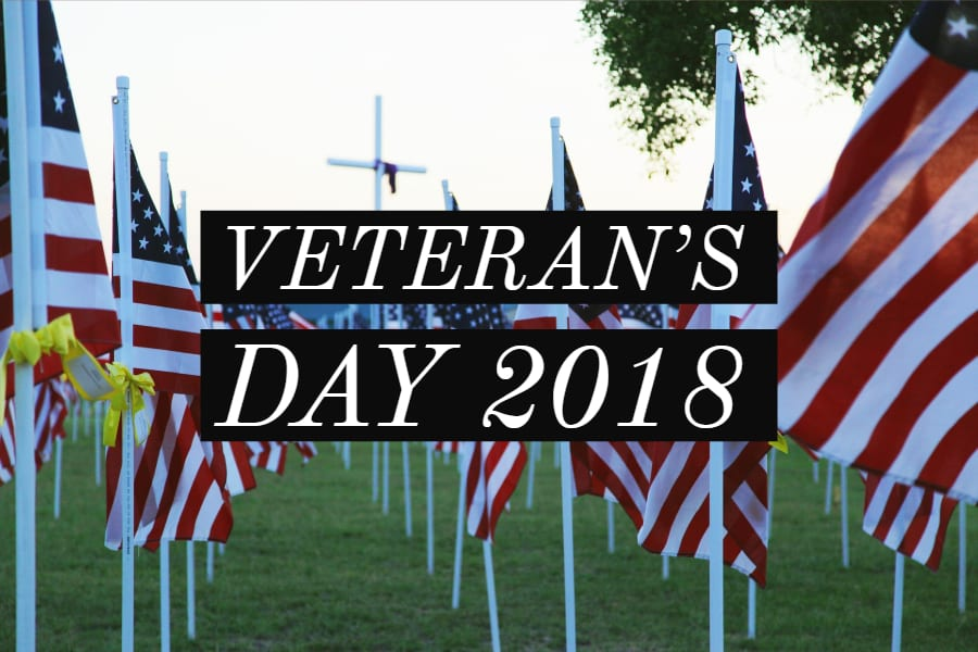 Ways to celebrate Veteran's Day 2018