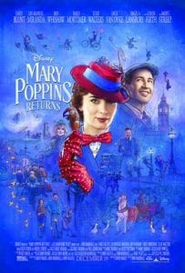 Mary Poppins Returns movie poster December movie