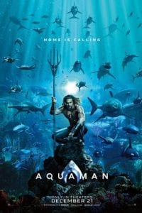Aquaman movie poster, December movie