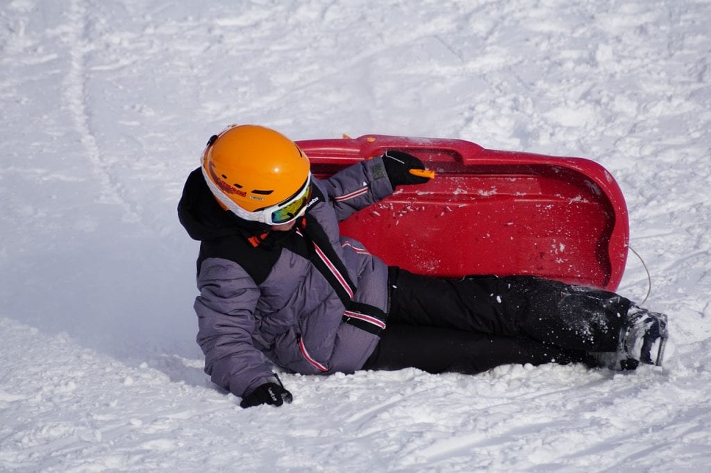sledding is just one activity you can do over the winter holidays
