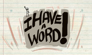 I have a word casual mobile game